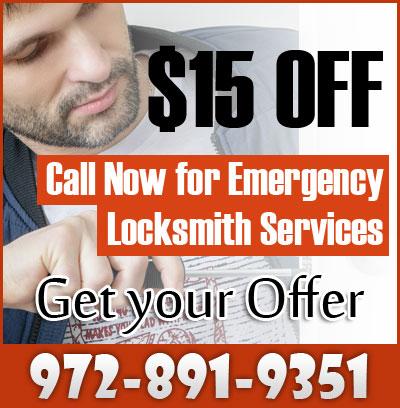 24 Hour Locksmith Dallas Coupon